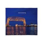 Duluth Aerial Lift Bridge & John G. Throw Blan
