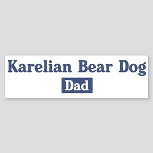 Keeshond dad Bumper Sticker
