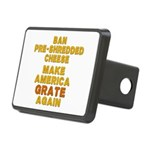 Make America Grate Again Rectangular Hitch Cover