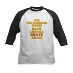 Make America Grate Again Kids Baseball Jersey
