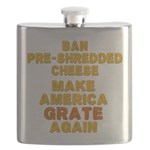 Make America Grate Again Flask