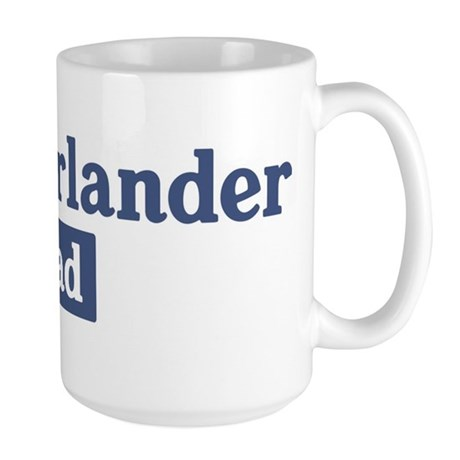 Munsterlander dad Large Mug