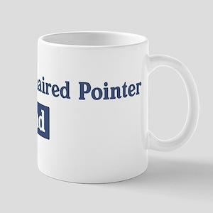 German Wirehaired Pointer dad Mug