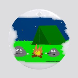 camping rocks Ornament (Round)
