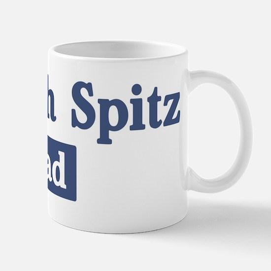 Finnish Spitz dad Mug