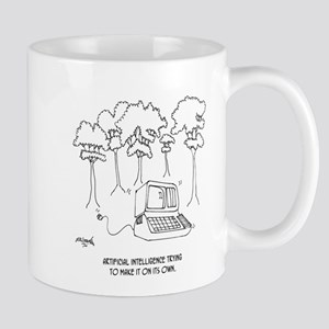 Artificial Intelligence Cartoon 3633 Mug