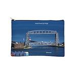 Duluth Aerial Lift Bridge Makeup Bag