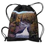 Beaver River Falls Drawstring Bag