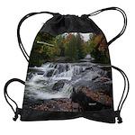 Bond Falls Cascades Drawstring Bag