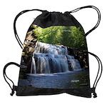 Canyon Falls Drawstring Bag