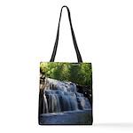 Canyon Falls Polyester Tote Bag