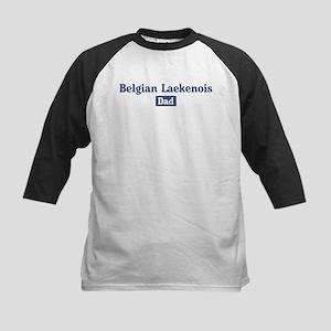 Belgian Laekenois dad Kids Baseball Jersey