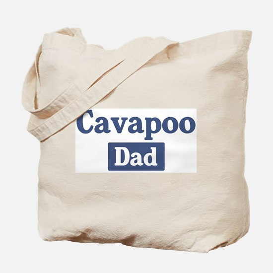 Cavapoo dad Tote Bag