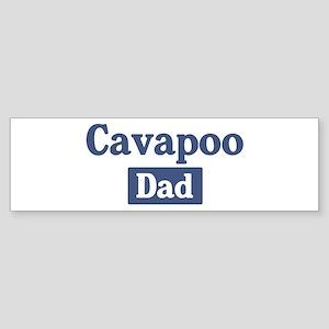 Cavapoo dad Bumper Sticker
