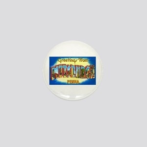 Pittsburgh Pennsylvania Greetings Mini Button