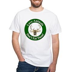 Love Animals (Front) White T-Shirt