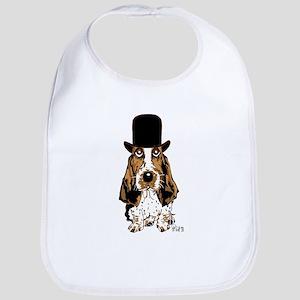 British hat Basset Hound Bib