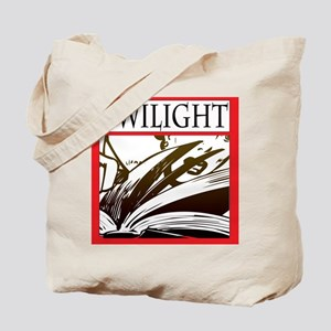 Scary Twilight Book Tote Bag