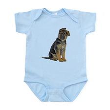 German Shepherd Puppy Infant Bodysuit