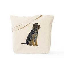 German Shepherd Puppy Tote Bag