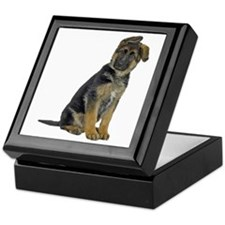 German Shepherd Puppy Keepsake Box