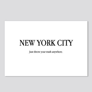 NYC Trash Postcards (Package of 8)