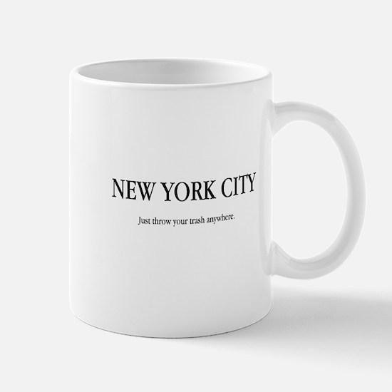 NYC Trash Mug