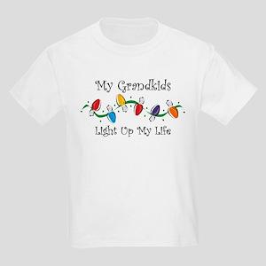 Grandkids Light My Life Kids Light T-Shirt