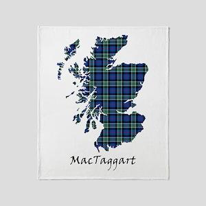 Map-MacTaggart Throw Blanket