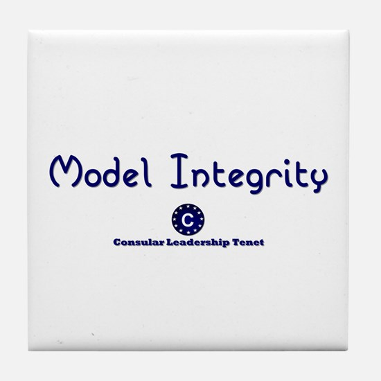 DP-Model Integrity Tile Coaster