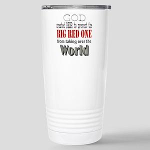 BR1, God & Beer Stainless Steel Travel Mug
