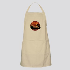 HOW I ROLL Doxie BBQ Apron