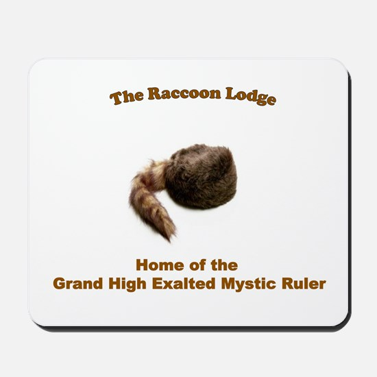 Raccoon Lodge Mousepad