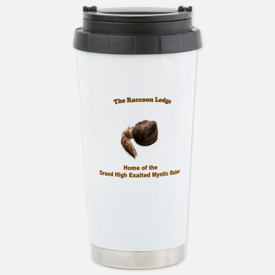 Raccoon Lodge Stainless Steel Travel Mug