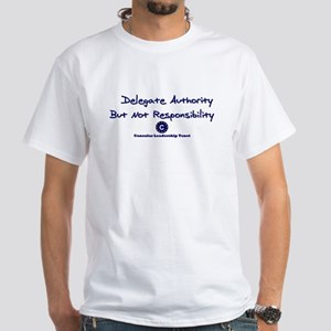 DP-Delegate Authority White T-Shirt