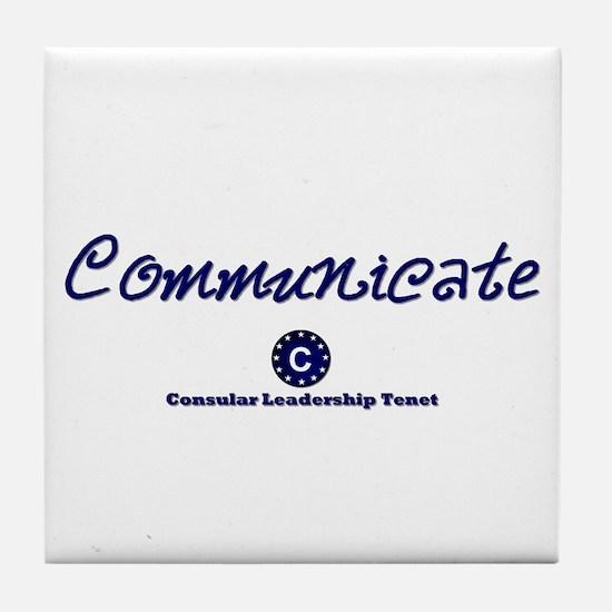 DP-Communicate Tile Coaster