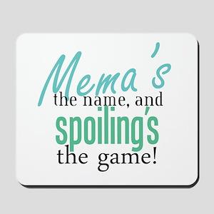 Mema's the Name Mousepad