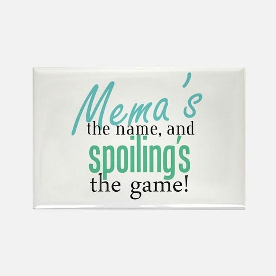 Mema's the Name Rectangle Magnet