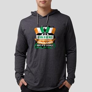 I'm Irish Suppose I Could Long Sleeve T-Shirt