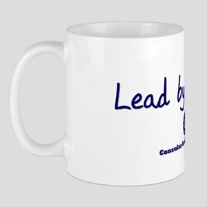 DP-Lead by Example Mug