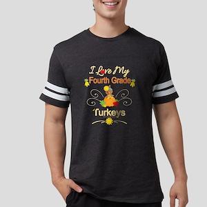 Thanksgiving Teacher Autum Fall Gift Fourt T-Shirt