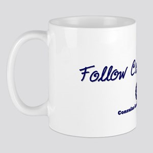 Follow Courageously Mug