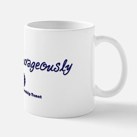 Follow Courageously Mug