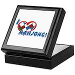 Mahjong Keepsake Box