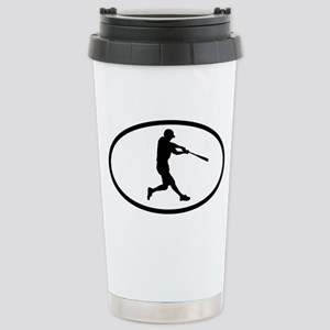 Baseball Stainless Steel Travel Mug