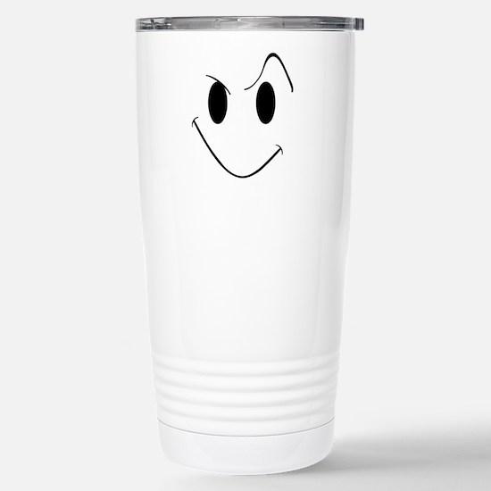 My Evil Grin Stainless Steel Travel Mug