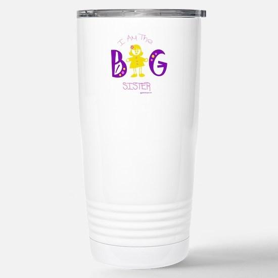 I am the big sister Stainless Steel Travel Mug