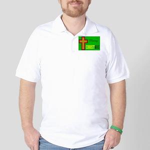 KEEP CHRIST FIRST Golf Shirt