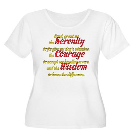 Agility Serenity Women's Plus Size Scoop Neck T-Sh