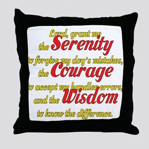 Agility Serenity Throw Pillow